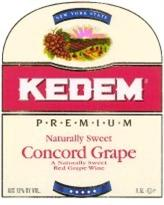 Kedem Concord Grape Kosher